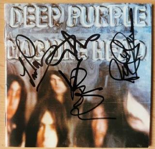 Deep Purple Machine Head płyta CD z autografami доставка товаров из Польши и Allegro на русском