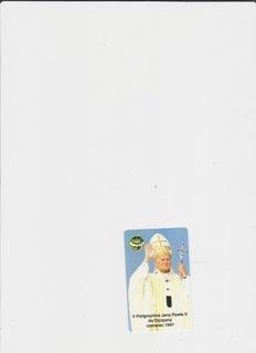 визитная карточка (25) Папа Иоанн Павел II, новый доставка товаров из Польши и Allegro на русском