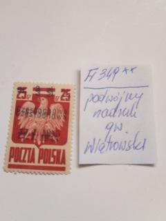 Wyd, krakowskie- Fi 349**-podwójny nadruk доставка товаров из Польши и Allegro на русском