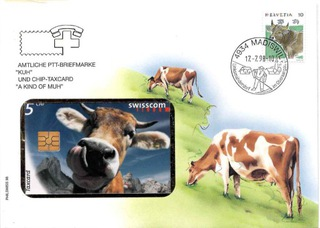 Koperta z kartą telefoniczną Szwajcaria доставка товаров из Польши и Allegro на русском