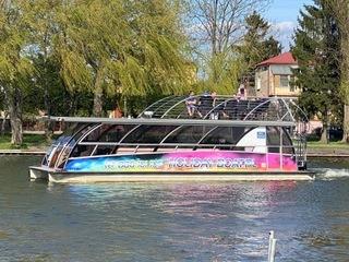 STATEK KATAMARAN PASAŻERSKI 25 pas, Party Boat доставка товаров из Польши и Allegro на русском