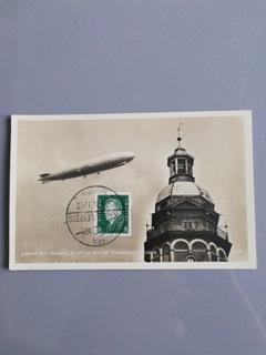 Pocztówka z Zeppelinem доставка товаров из Польши и Allegro на русском