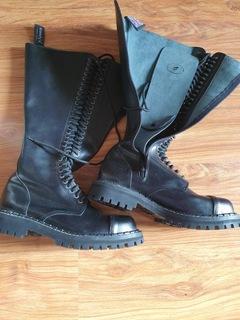 Ботинки Steady's 30 отверстий на молнии, новый 46 размер доставка товаров из Польши и Allegro на русском