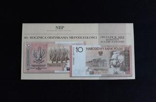 Folder Piłsudski 90 rocznica Niepodległości 2008r. доставка товаров из Польши и Allegro на русском