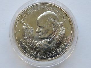 Dominikana -25 pesos 1979 L, Jan Paweł II, 2 uncje доставка товаров из Польши и Allegro на русском