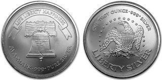 AMERICAN LIBERTY BELL 1oz .999 FINE SILVER !!!!!!! доставка товаров из Польши и Allegro на русском