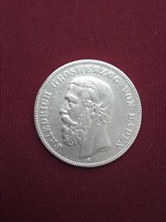 5 Mark Friedrich 1876 Badenia G (Jaeger 27)  доставка товаров из Польши и Allegro на русском