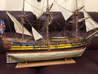 КОРАБЛЬ HMS LEOPARD доставка товаров из Польши и Allegro на русском
