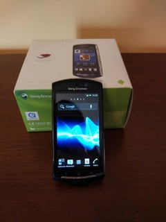 Смартфон Sony Xperia Neo V Navy Blue  доставка товаров из Польши и Allegro на русском