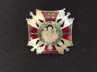 II RP , Odznaka Honorowa ORLĘTA wz.2 BUSZEK доставка товаров из Польши и Allegro на русском
