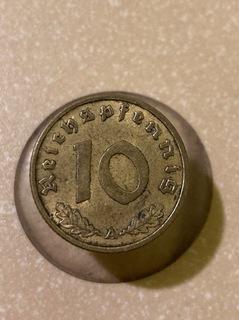10 fenigow 1938 доставка товаров из Польши и Allegro на русском