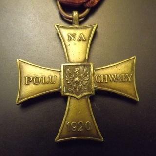 Крест Доблести Польских вооруженных сил на Западе оригинал  доставка товаров из Польши и Allegro на русском