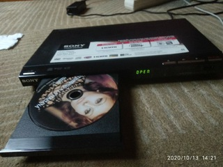 DVD CD player odtwarzacz Sony DVP-SR750H,  Full HD доставка товаров из Польши и Allegro на русском