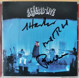 Genesis Phil Collins Live płyta CD z autografami доставка товаров из Польши и Allegro на русском