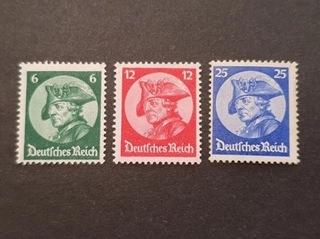 Znaczki Deutsche Reich /niemieckie/III rzesza** доставка товаров из Польши и Allegro на русском