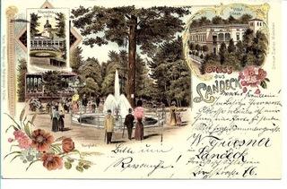 Lądek Zdrój (Bad Landeck), 1898 rok! доставка товаров из Польши и Allegro на русском
