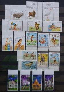 Zbiór czystych znaczków tematycznych w seriach 1 доставка товаров из Польши и Allegro на русском