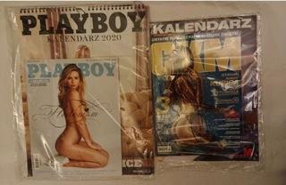 Playboy +CKM 12/2019 с календарями 2020 доставка товаров из Польши и Allegro на русском