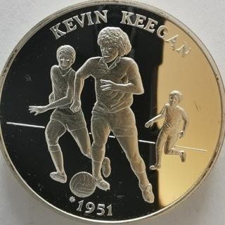 Medal 1996 Royal Mint Kevin Keegan 1oz Srebro    доставка товаров из Польши и Allegro на русском