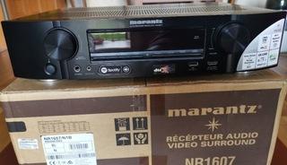 Amplituner Marantz NR1607 czarny stan idealny доставка товаров из Польши и Allegro на русском