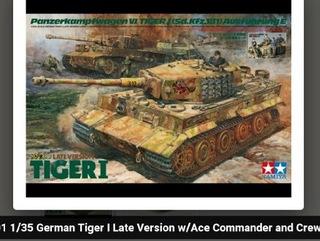 Tamiya Tiger I with ace and crew доставка товаров из Польши и Allegro на русском