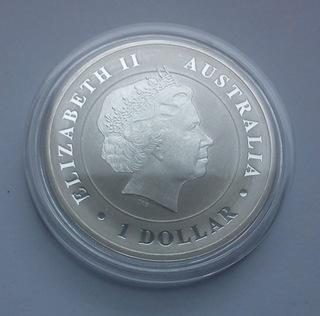 Australia Krokodyl srebro 1 oz uncja Ag 2014 доставка товаров из Польши и Allegro на русском