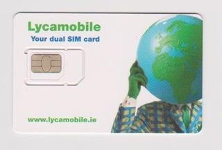 Карточка gsm sim-Ирландия доставка товаров из Польши и Allegro на русском