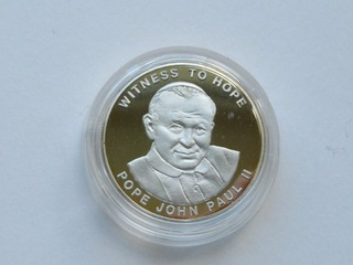 Uganda - 1000 schilling 2002,   Jan Paweł II доставка товаров из Польши и Allegro на русском
