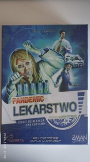 Pandemic lekarstwo - gra planszowa доставка товаров из Польши и Allegro на русском