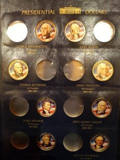 8x1$ USA prezydenci kolor dwustronny flaga + album доставка товаров из Польши и Allegro на русском