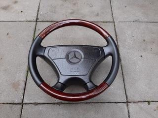 Drewniana kierownica Mercedes W124 W140 R129 AMG доставка товаров из Польши и Allegro на русском