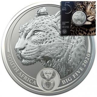 Серебряная монета Леопард Большая Пятерка 2020 доставка товаров из Польши и Allegro на русском