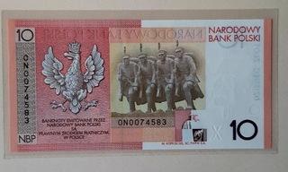Banknot 10zł 90. rocznica NIEPODLEGŁOŚCI 2008 r  доставка товаров из Польши и Allegro на русском