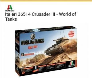 Crusader Italeri World of Tanks  доставка товаров из Польши и Allegro на русском