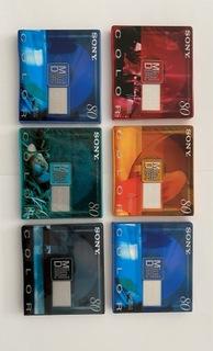 Mini dyski Sony Color 80 Nowe ( 6 szt ) доставка товаров из Польши и Allegro на русском