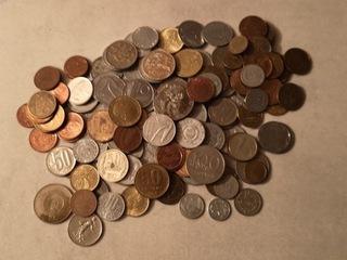 Zestaw ponad 140 szt monet  доставка товаров из Польши и Allegro на русском