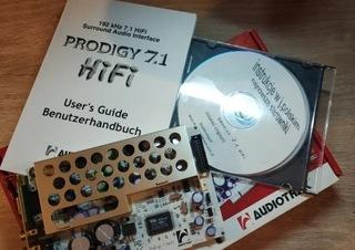 Audiotrak Prodigy 7.1 HiFi Уникум на рынке, возможность доставка товаров из Польши и Allegro на русском