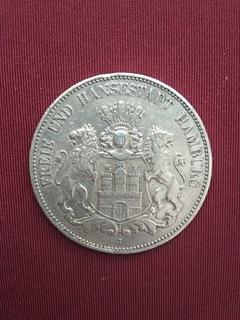 5 Mark Free City Hamburg 1902 J (jaeger 65)  доставка товаров из Польши и Allegro на русском