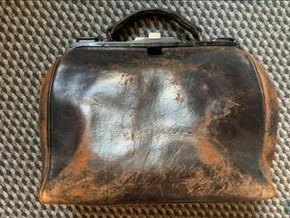 Немецкая медицинская сумка времен Первой или Второй Мировой войны  доставка товаров из Польши и Allegro на русском