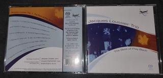 SACD Jacques loussier Trio Play Bach