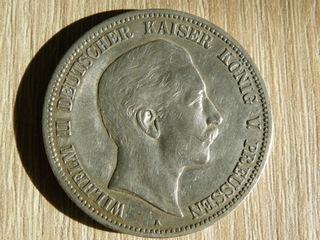 5 MARK 1907 WILHELM A доставка товаров из Польши и Allegro на русском