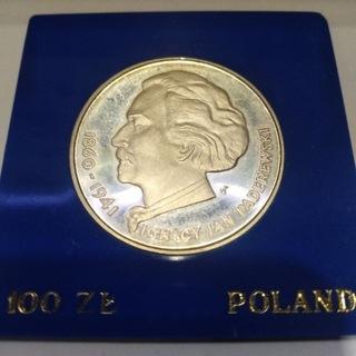 100 zł 1975 r Ignacy Jan Paderewski доставка товаров из Польши и Allegro на русском