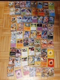 Karty Pokemon - 66 sztuk доставка товаров из Польши и Allegro на русском
