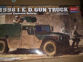 Model Hummer Gun Track - Academy доставка товаров из Польши и Allegro на русском