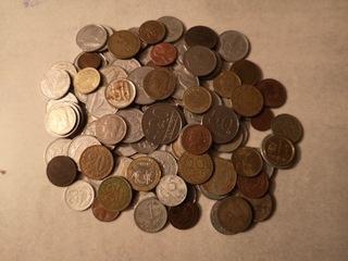 Zestaw ponad 100 szt monet  доставка товаров из Польши и Allegro на русском