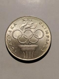 200 zł XXI Igrzyska Olimpiady 1976r SREBRO доставка товаров из Польши и Allegro на русском