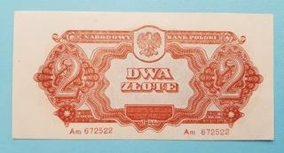 2 złote 1944 rok Seria Am Stan 1 доставка товаров из Польши и Allegro на русском