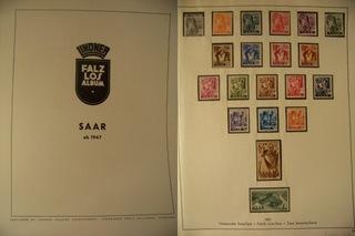 SAAR 1947 - 1958 на 23 карточках  доставка товаров из Польши и Allegro на русском