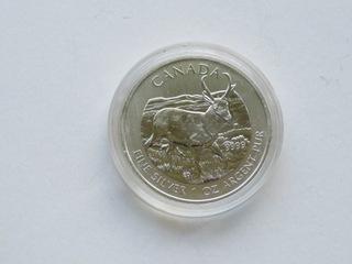 Kanada - 5 $ 2013, Antylopa ,  1 uncja Ag доставка товаров из Польши и Allegro на русском