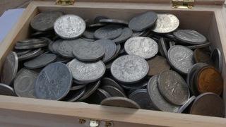 OGROMNY ZESTAW MONET PRL - 4,5 KG  доставка товаров из Польши и Allegro на русском